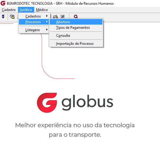 processo 01 - Você sabia que o Globus gerencia todos os processos trabalhistas que a sua empresa recebeu?